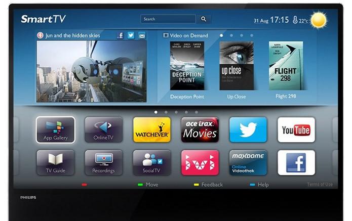 Sistema da Smart TV apresenta muitos engasgos (Foto: Divulgação/Philips)