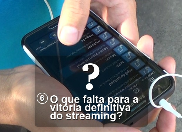 Streaming pergunta 6 (Foto: G1)