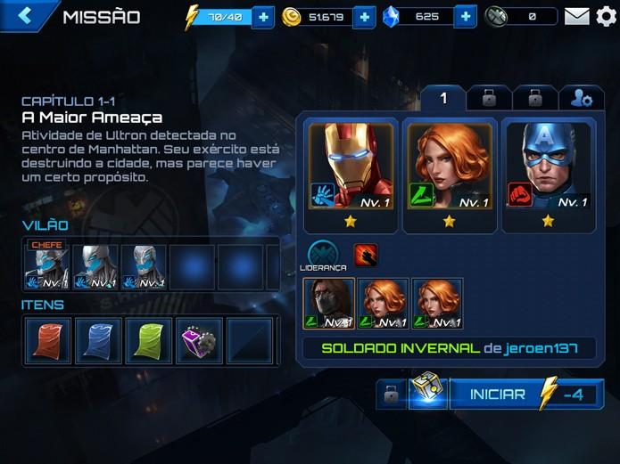 Desbloqueie personagens nas missões e objetivos (Foto: Reprodução/Felipe Vinha)