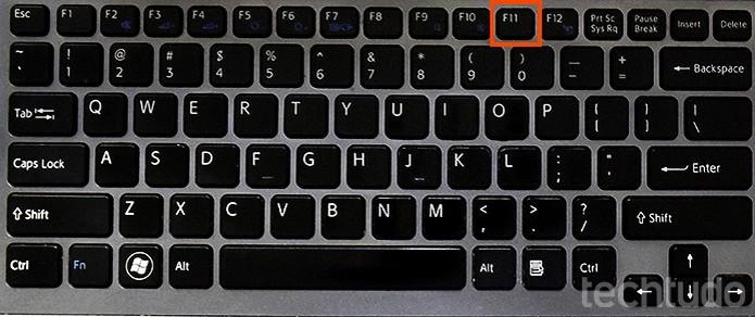 Abrir em tela cheia com atalho F11 (Foto: Barbara Mannara/TechTudo)