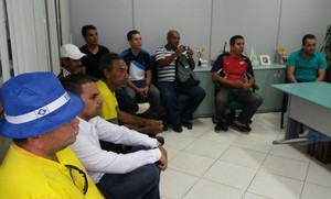 Reunião foi realizada na Secretaria Adjunta de Esporte, na Arena da Floresta (Foto: Divulgação/Secretaria Adjunta de Esporte)