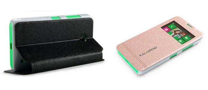 Ice, capa protetora com suporte para Lumia 630 (Foto: Divulgação/Kalaideng)