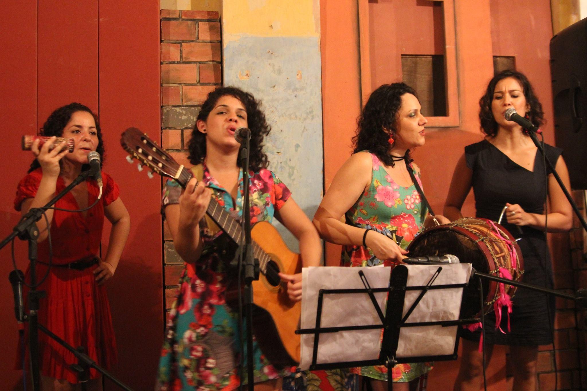Las Marditas apostam no forró, cancioneiro popular e universo brega  (Foto: Divulgação/Fred Alvin)