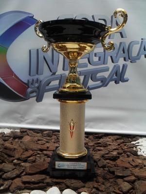 Trófeu Copa Integração de Futsal (Foto: Cleber Corrêa/GLOBOESPORTE.COM)