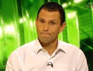 Gus Poyet em transmissão da BBC (Foto: Reprodução )