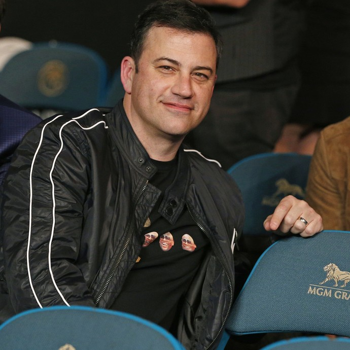 Comediante Jimmy Kimmel (Foto: AP)