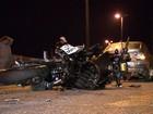 Motociclista morre atropelado no Anel Rodoviário, no sentido Vitória
