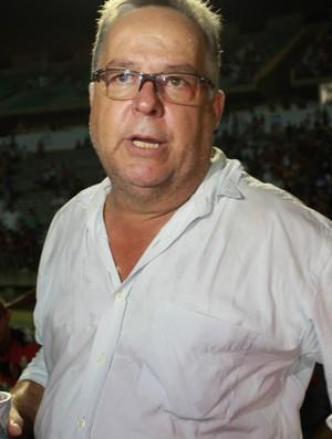 Josué Teixeira treinador do Flamengo-PI (Foto: Náyra Macêdo/GLOBOESPORTE.COM)