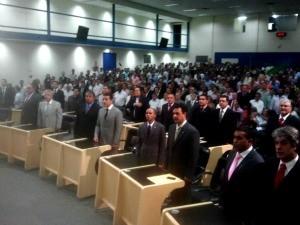 Sessão foi realizada nesta terça-feira (19), em Campo Grande (Foto: Tatiane Queiroz/ G1MS)