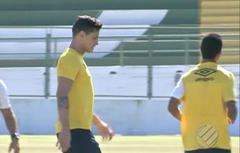 Max e Eduardo Ramos treinam e são confirmados contra o Náutico-RR