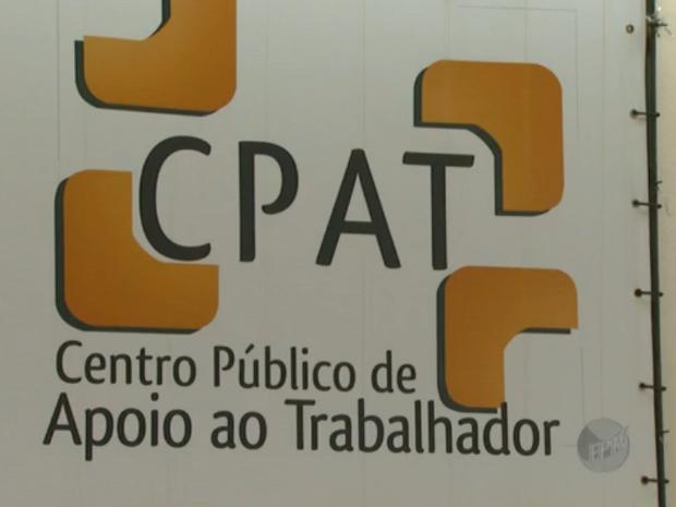CPAT Campinas oferece vagas de emprego (Foto: Reprodução/EPTV)