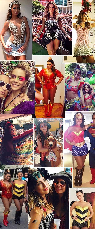 [620] Fantasias de carnaval das famosas (Foto: Reproduo/Instagram)