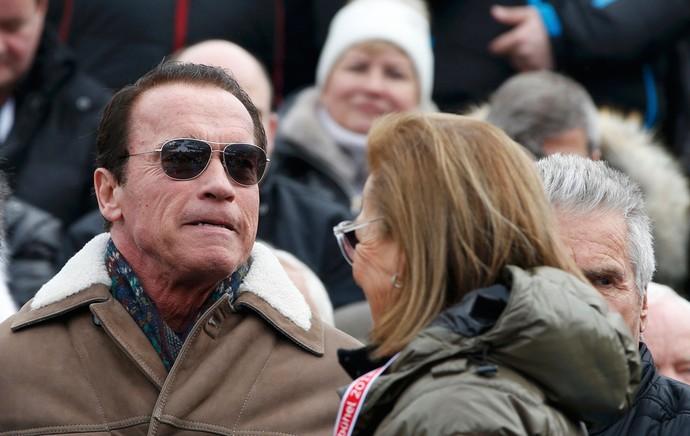esqui Schwarzenegger Kitzbuehel (Foto: Agência Reuters)