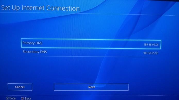 Mudando o DNS do seu PS4 (Foto: Reprodução/André Mello)