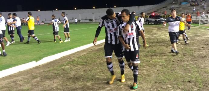 Botafogo-PB, Icasa, André Cassaco (Foto: Lucas Barros / GloboEsporte.com)