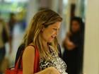 Bárbara Borges deu à luz bebê de mais de 4kg e fez cesariana