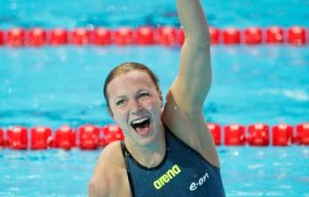 "Após bater recordes em Kazan, sueca nadará o Finkel no Brasil: ""Animada"""