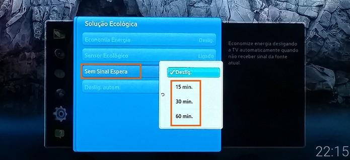 Desligue a TV automaticamente quando ficar sem sinal (Foto: Reprodução/Barbara Mannara)