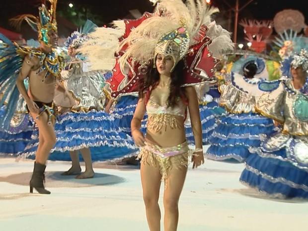 Império do Sol venceu o carnaval em Rio Preto  (Foto: Reprodução/TV TEM)