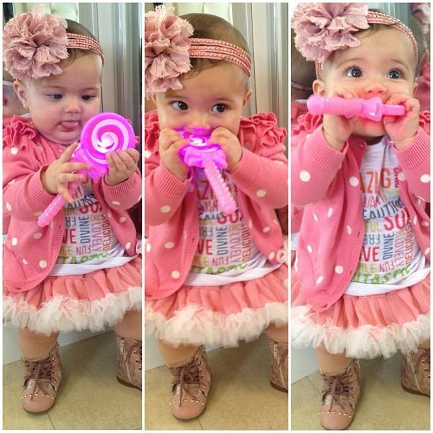 Carolina, filha de Karla, ex-bbb (Foto: Instagram / Reprodução)