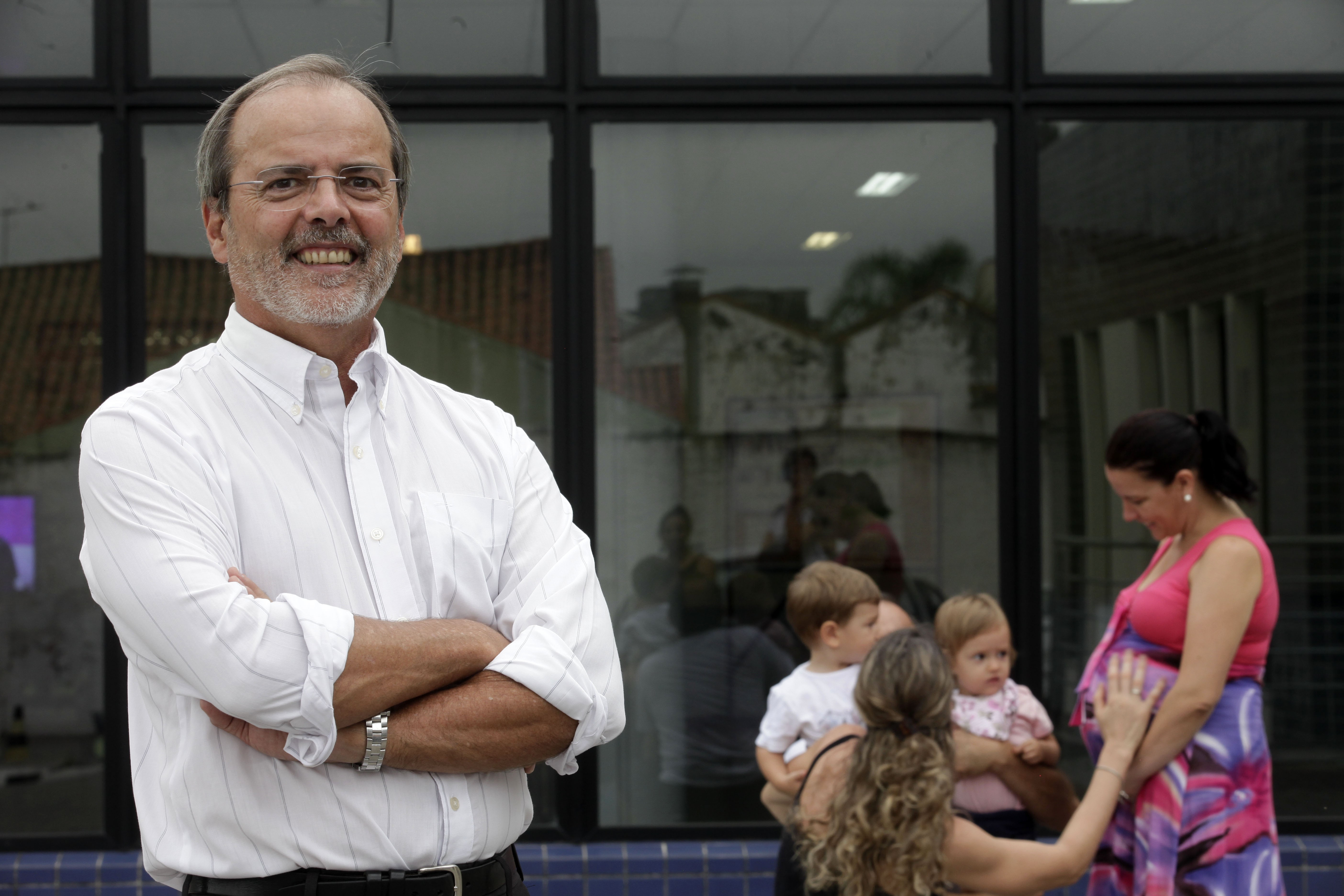 Cesar Victora, pesquisador e professor da UFPel (Foto: Daniela Xu/UFPel/Divulgação)