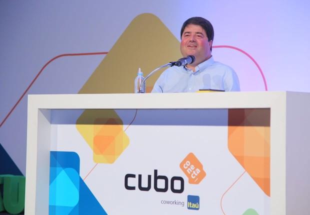Pedro Moreira Salles em evento no Cubo (Foto: Divulgação)