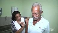 Início de campanha nacional de vacinação contra a gripe