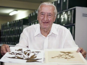 Gert tinha 89 anos e foi o fundador do Museu Botânico de Curitiba  (Foto: Divulgação / Prefeitura )