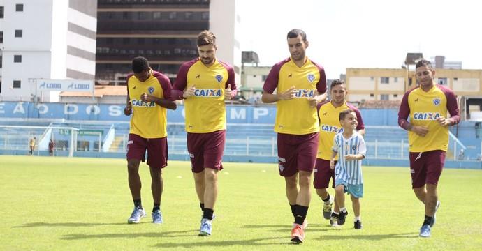 treino Paysandu Curuzu (Foto: Fernando Torres/Ascom Paysandu)