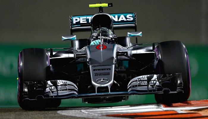 Nico Rosberg é o segundo no treino do GP de Abu Dhabi