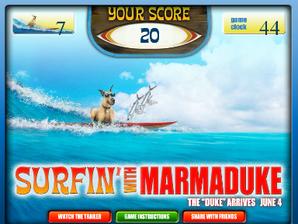 Surfando com Marmaduke