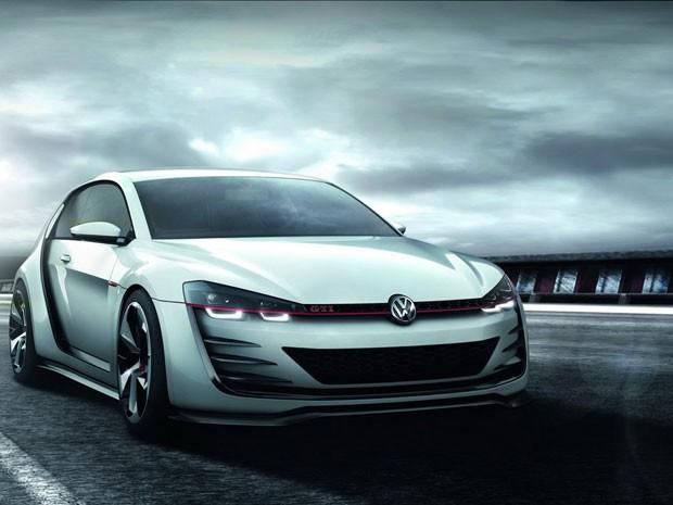 Golf Design Vision GTI é um protótipo de corrida baseado na sétima geração do Golf GTI (Foto: Divulgação)