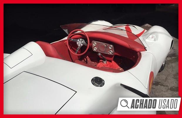 Achado Usado: réplica do Mach 5 do Speed Racer (Foto: Autoesporte)