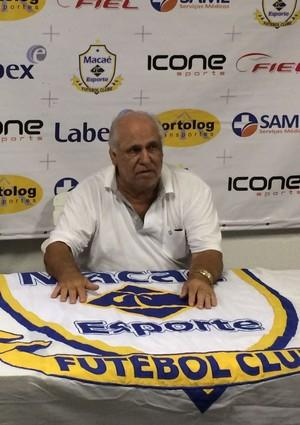 René Simões Macaé Mirinho (Foto: Gustavo Garcia)