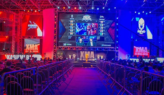 League of Legends tem quatro equipes de primeira no Brasil Mega Arena (Foto: Reprodução/Brasil Mega Arena)