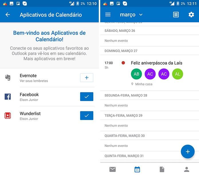 Calendario Outlook.Outlook Como Organizar O Calendario Usando O Facebook
