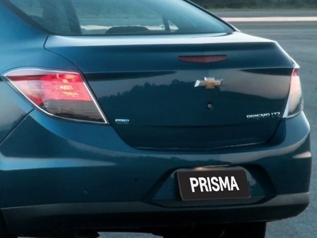Chevrolet Prisma como é atualmente (Foto: Divulgação)