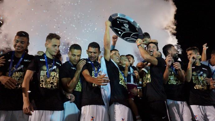 ABC campeão potiguar 2017 (Foto: Augusto Gomes/GloboEsporte.com)