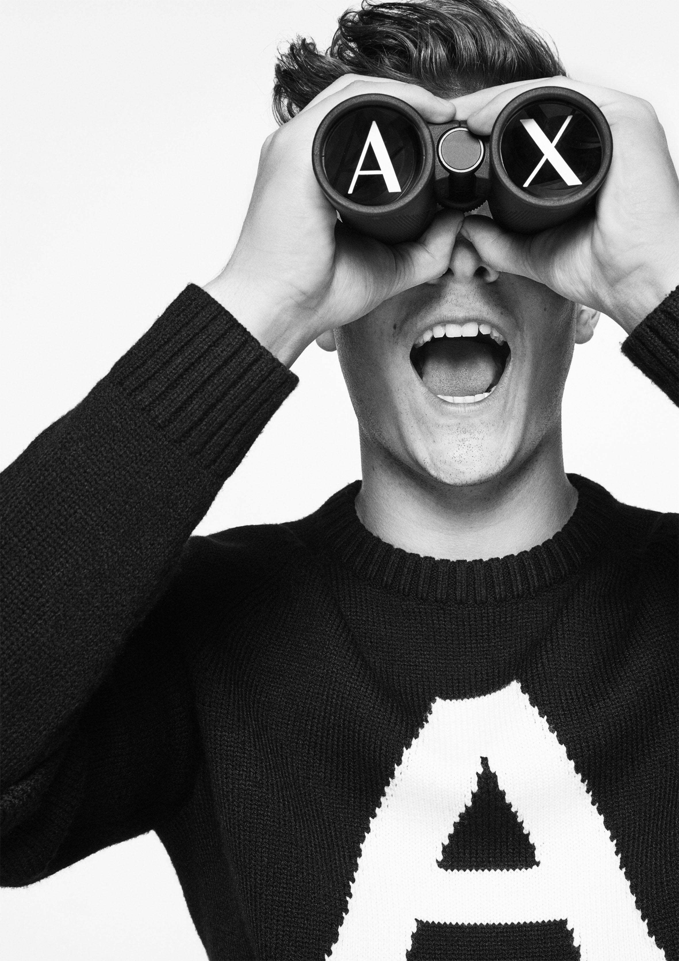 A campanha de inverno 2018 da A|X Armani Exchange  (Foto: Divulgação)