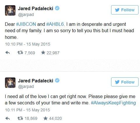 Jared Padalecki (Foto: Twitter / Reprodução)