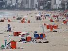 Lixo nas ruas do Rio ganha repercussão internacional