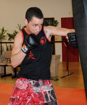 Roberto Zampronio, lutador de kung fu de Presidente Prudente, disputará Campeonato Internacional (Foto: Stephanie Fonseca / Divulgação)