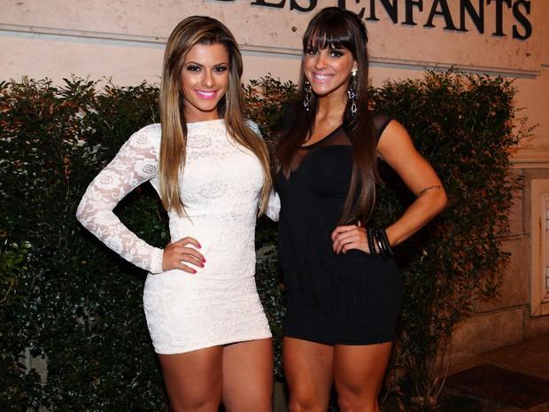 Babi Rossi e Carol Dias (Foto: Manuela Scarpa/ Foto Rio News)