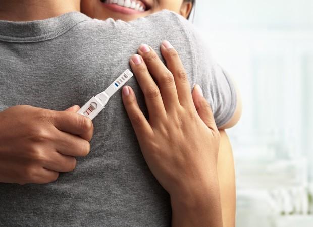 Teste de gravidez (Foto: Shutterstock)