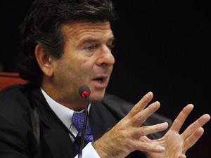 Ministro Luiz Fux disse que processo legislativo não foi abreviado (Foto: Gervásio Baptista/SCO/STF)