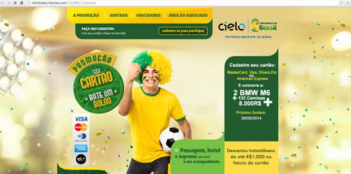 Gol contra! Site falso oferece ingresso para Copa do Mundo, mas é vírus (Foto: Divulgação/Kaspersky)