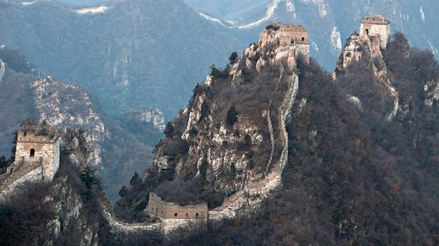 A grande Muralha da China (Foto: Divulgao)