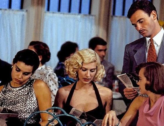 Mateus Carrieri em cena da novela Salomé, exibida na Globo em 1991 (Foto: Arquivo/ Rede Globo)