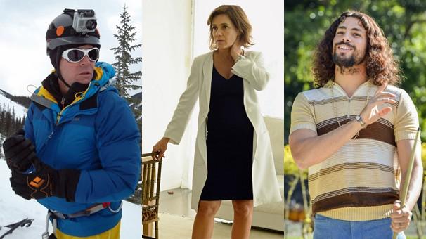Planeta Extremo vira programa, Adriana Esteves volta em Felizes para Sempre? e Cauã Reymond está em Tim Maia - Vale o Que Vier (Foto: Globo)