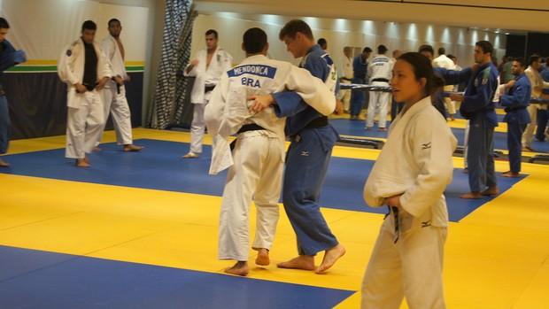 Judô Yuko Fuji aula seleção (Foto: Lydia Gismondi)